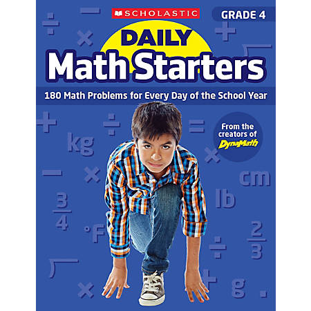 Scholastic Teacher Resource Daily Math Starters, Grade 4