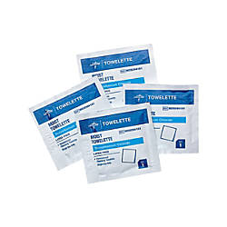 Medline Benzalkonium Chloride Towelettes Case Of