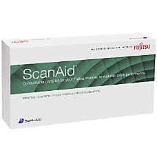 Fujitsu ScanAid Cleaning Kit For Scanner