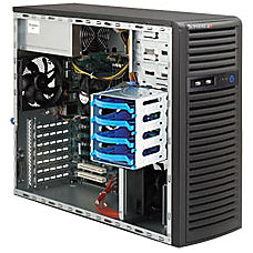 Supermicro SuperServer 5037C T Barebone System