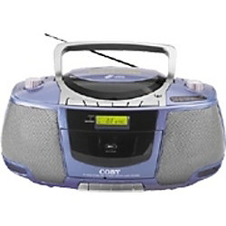 Sanyo MGP9 Red Vintage Portable Personal Cassette Player 272896562153 additionally Digital Radio Alarm Clock Cd Player 613 together with COBY MP CD450 Boombox Radio CD in addition Radio Tape Player moreover pact Personal Cd Player W Hp Black 208911. on coby compact am fm radio