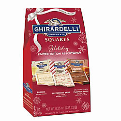 Ghirardelli Assorted Holiday Chocolate Squares 825