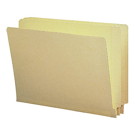 Smead® Shelf-Master® End-Tab Folders, Legal Size, Manila, Box Of 100