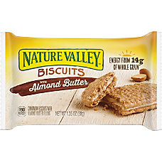 NATURE VALLEY Flavored Biscuits Almond Butter
