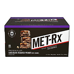 metRX Protein Plus Bars Chocolate Roasted