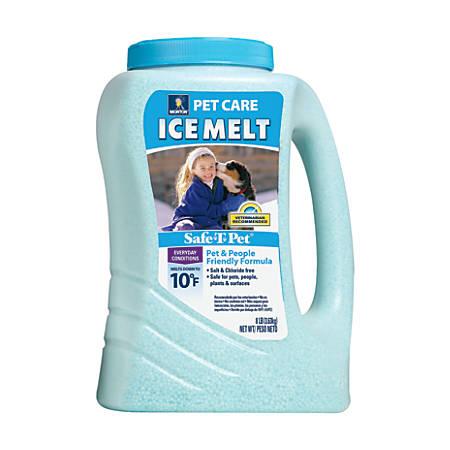Morton Safe-T-Pet Care Ice Melt, 8 Lb