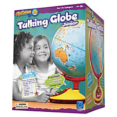 Educational Insights GeoSafari Talking Globe Jr