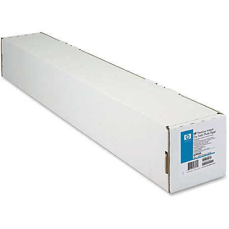 "HP Premium Instant-Dry Satin Photo Paper, 36"" x 100'"