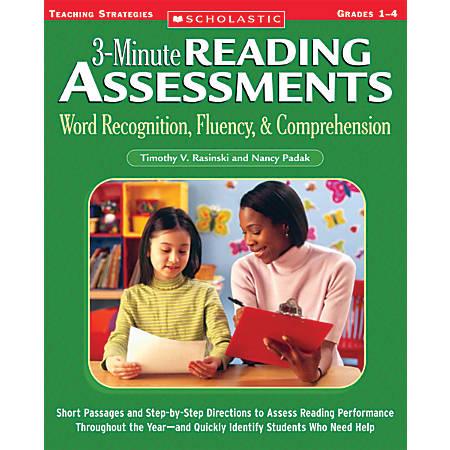Scholastic Reading Assessment — Grades 1-4
