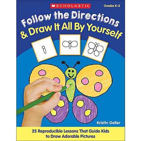 Scholastic Follow Directions — Draw