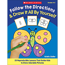 Scholastic Follow Directions Draw