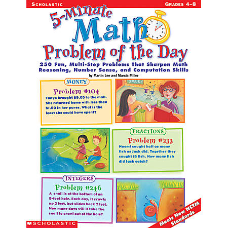 Scholastic 5-Minute Problem Of The Day
