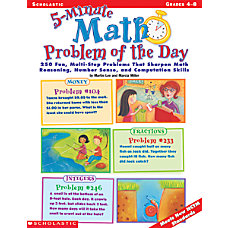 Scholastic 5 Minute Problem Of The