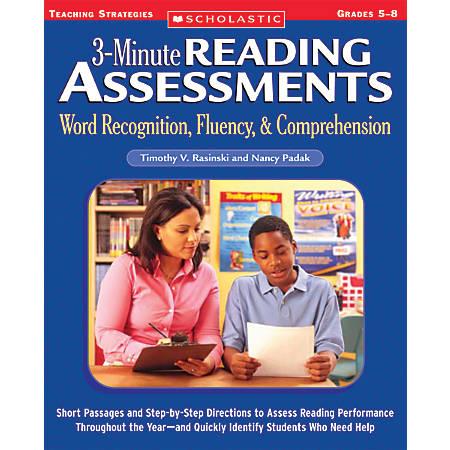 Scholastic Reading Assessment — Grades 5-8