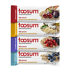 Toosum Healthy Foods Oatmeal Bars Variety