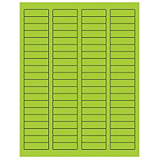 Office Depot Brand Labels LL170GN Rectangle