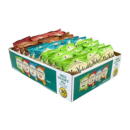 Miss Vickie's Kettle Cooked Chips, Box Of 30 Bags