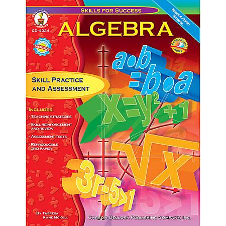 Carson-Dellosa Skills For Success Book — Algebra