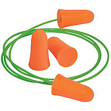 MELLOWS DISP FOAM EARPLUGS NRR 30