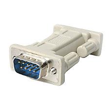 StarTechcom DB9 RS232 Serial Null Modem