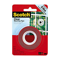 Scotch Permanent Mounting Tape 1 x