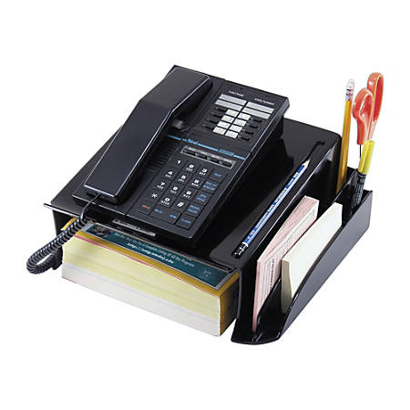Office Depot® Brand 30% Recycled Phone Stand, Black