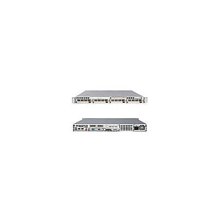 Supermicro A+ Server 1020P-TB Barebone System - ServerWorks - Socket 940 - Opteron (Dual-core) - 1000MHz Bus Speed - 32GB Memory Support - DVD-Reader (DVD-ROM) - Gigabit Ethernet - 1U Rack