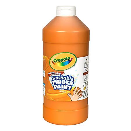 Crayola® Washable Finger Paint, 32 Oz., Orange