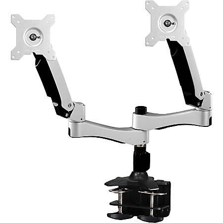"""Amer Mounts Dual Articulating Monitor Arm. Supports two 15""""-26"""" LCD/LED Flat Panel Screens"""