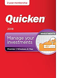 Quicken Premier 2018 2 Year Subscription