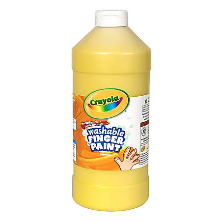 Crayola® Washable Finger Paint, 32 Oz., Yellow