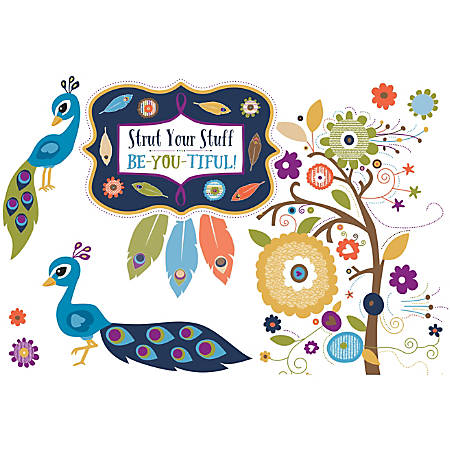 Carson-Dellosa You-Nique Strut Your Stuff Bulletin Board Set, Multicolor, Grades K-5