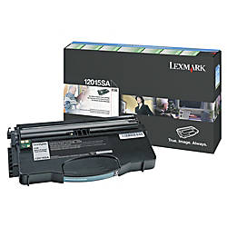 Lexmark 12015SA Return Program Black Toner