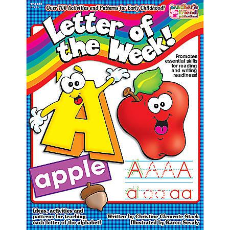 Scholastic Letter/Week Book