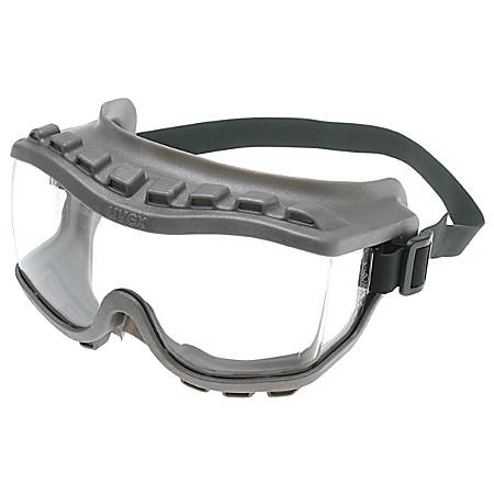 Strategy Goggles, Clear/Gray, Uvextra Antifog Coating, Neoprene, Closed Vent