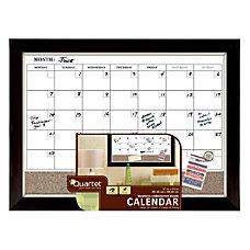 Quartet Magnetic Dry EraseCork Board 1