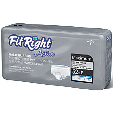 FitRight Active Male Guards 6 x