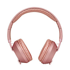 BPM Bluetooth On Ear Headphones Rose