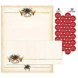 Great Papers Holiday Stationery Kit Antique