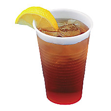 Boardwalk Translucent Plastic Cold Beverage Cups