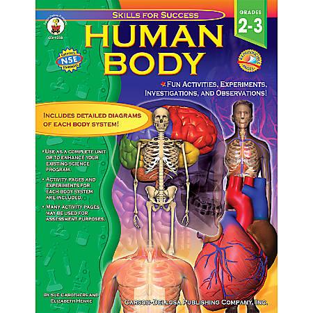 Carson-Dellosa Skills For Success Book, Human Body: Grades 2-3