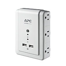 APC SurgeArrest 6 Outlet 2 USB