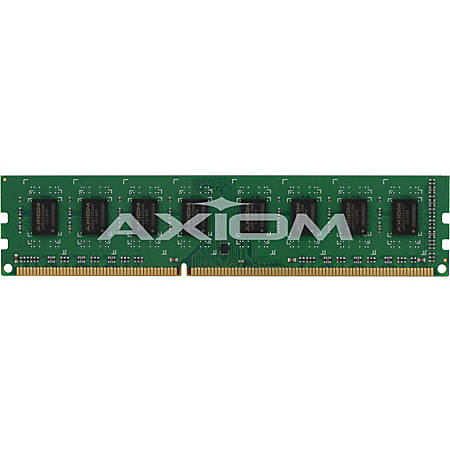 Axiom 4GB DDR3-1066 UDIMM for Dell # A2984884, A2984885, A3414610, A3414615 - 4 GB - DDR3 SDRAM - 1066 MHz DDR3-1066/PC3-8500 - Non-ECC - Unbuffered - 240-pin - DIMM