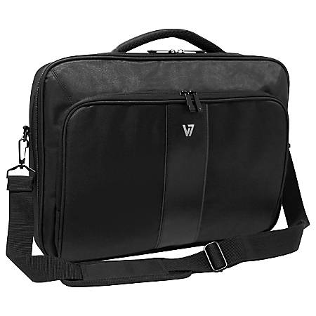 """V7 Professional CCP24-9N Carrying Case (Briefcase) for 13"""" Notebook - Black"""