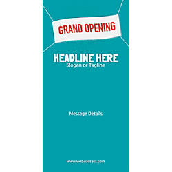 Custom Vertical Banner Grand Opening Banner