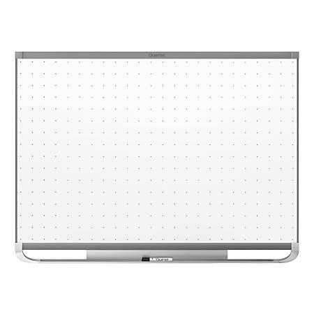 "Quartet® Prestige® 2 Magnetic Total Erase® Whiteboard, Graphite Frame, 72"" x 48"""