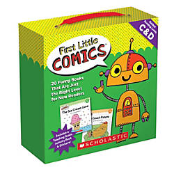 Scholastic Teacher Resources First Little Comics