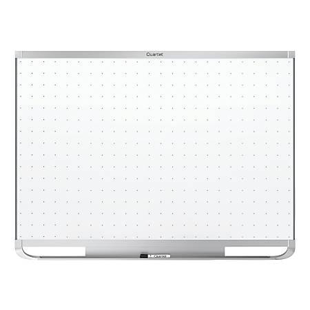 Quartet® Prestige® 2 Magnetic Total Erase® Whiteboard, Aluminum Frame, 96