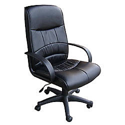 OFM Mid Back Leatherette Chair 41