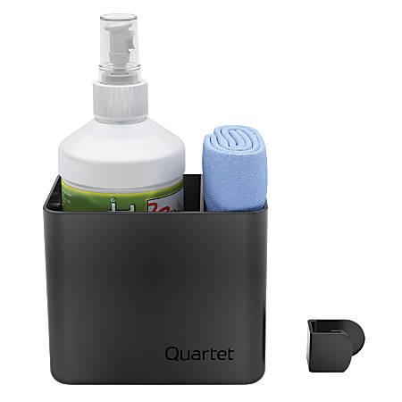 Quartet® Prestige® 2 Connects™ Spray Cleaner Caddy, Black